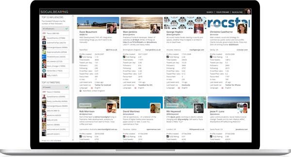 tweet display search